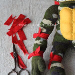 sew ninja turtle 34 assembly