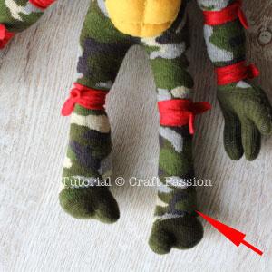 sew ninja turtle 36 assembly