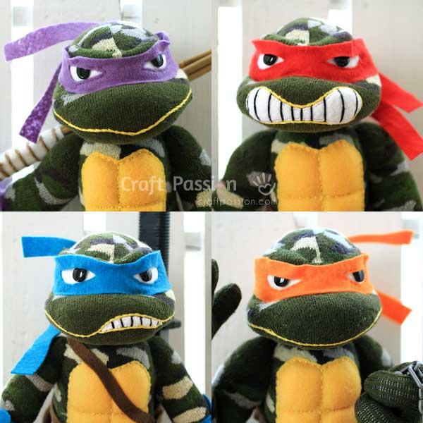 sock ninja turtle toys