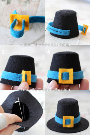 make mini top hat