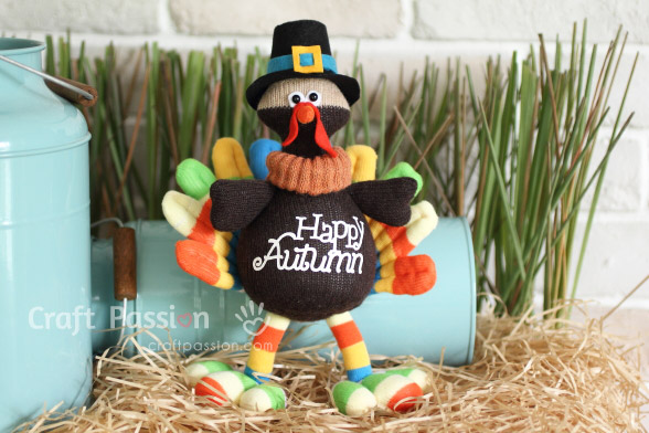 Sock Turkey Sewing Pattern