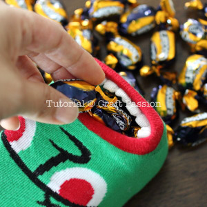 make halloween candy holder
