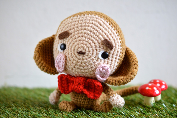Amigurumi Monkey Patterns : Pattern amigurumi monkey