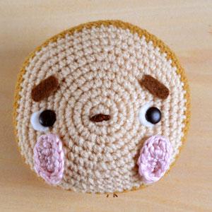 Monkey Amigurumi head