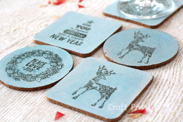 Diy Cork Coasters Easy Gift To Make Craft Passion