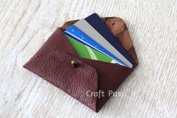 no sew card pouch