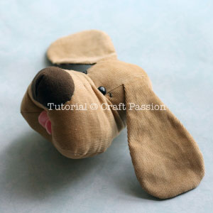 sew plush dog