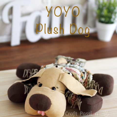 YoYo Plush Dog Sewing Pattern