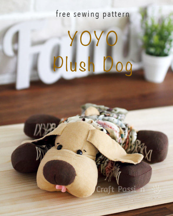 plush dog pattern