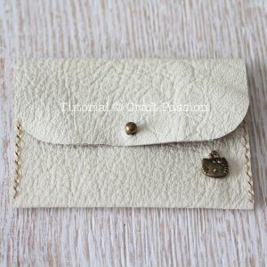 leather coin purse stud button