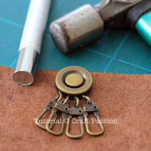 rivet key holder