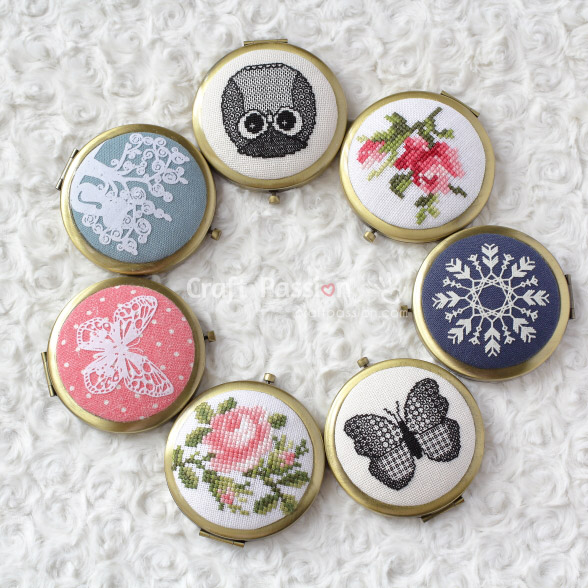 beautiful pocket mirrors