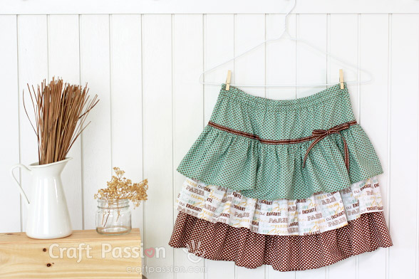 Ruffle Skirt Sewing Pattern