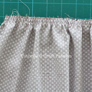 gather fabric