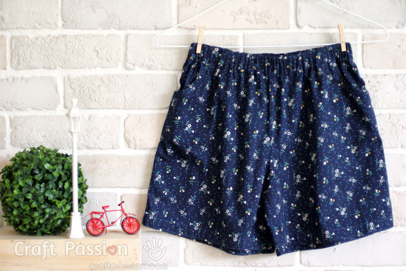 Pre-Teenager Shorts Sewing Pattern