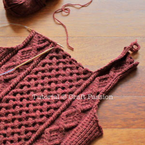 knit sweater front