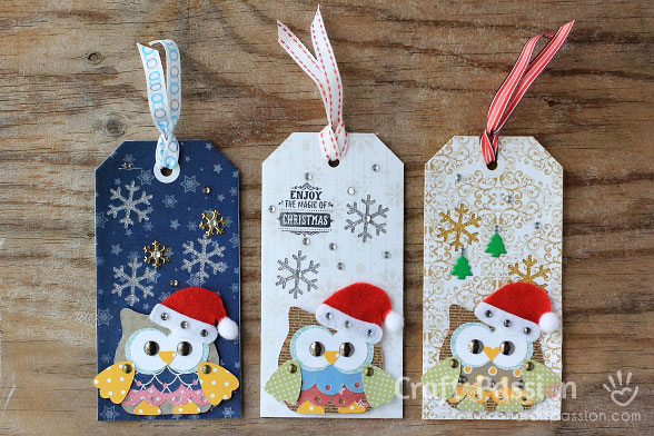 ow christmas tags