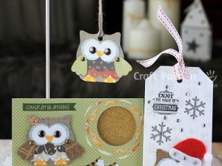 olivia owl pattern Christmas Crafts