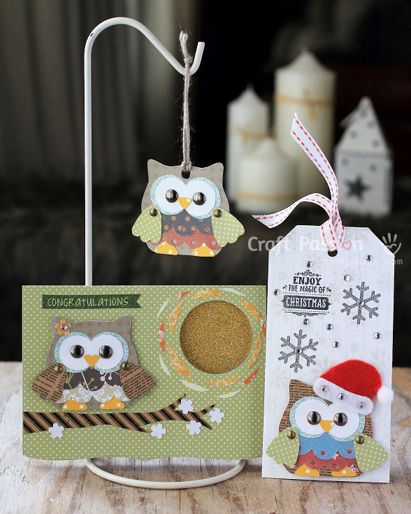 olivia owl pattern Christmas Crafts
