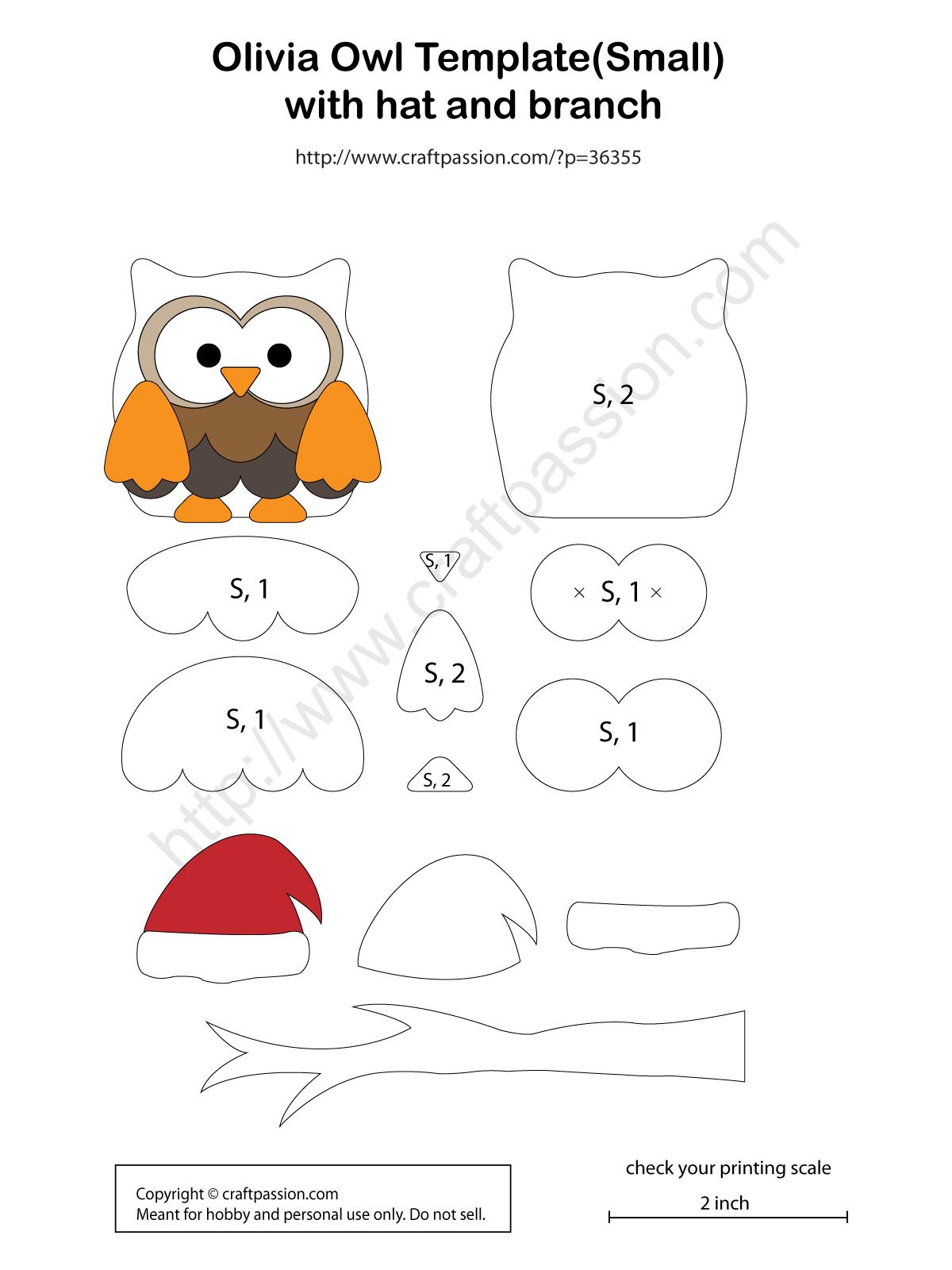 Owl Pattern Olivia Free Pattern Amp Tutorial Craft Passion