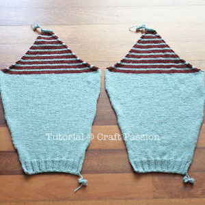 stripe raglan sleeve