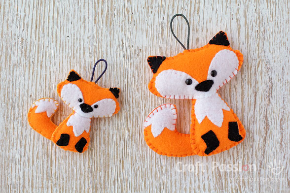 Felt Fox Pattern – Freddy