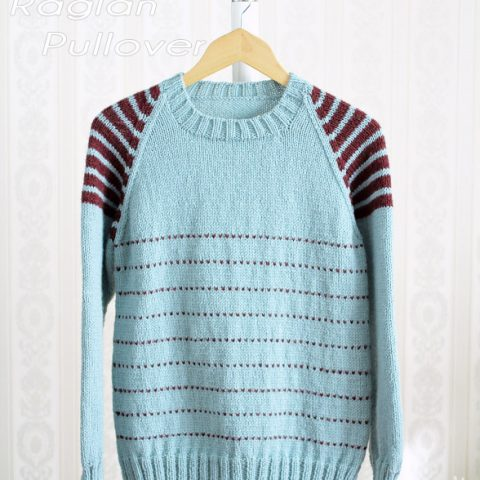 Raglan Pullover Knitting Pattern