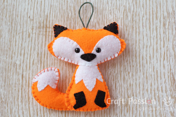 orange fox pattern