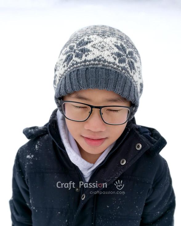 beanie knit pattern