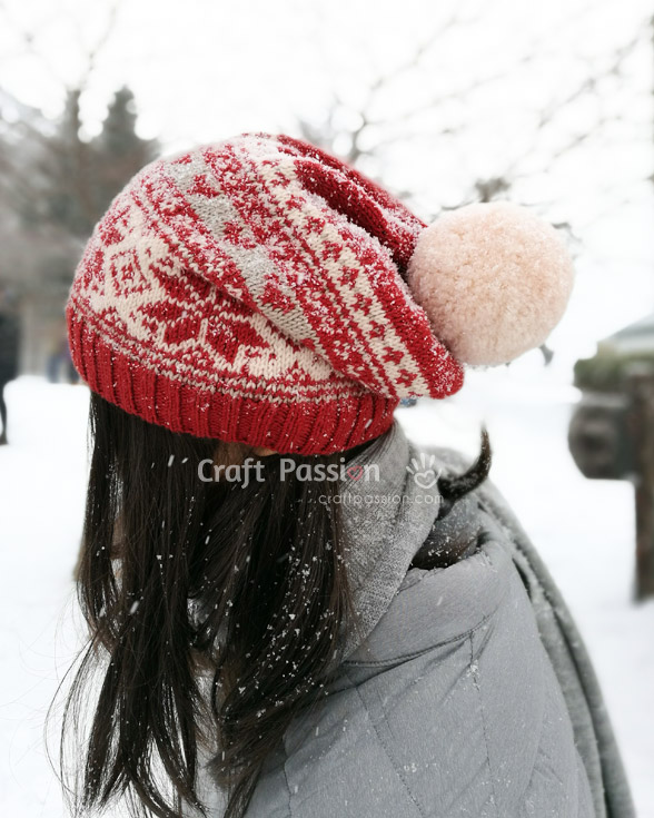 color beanie pattern