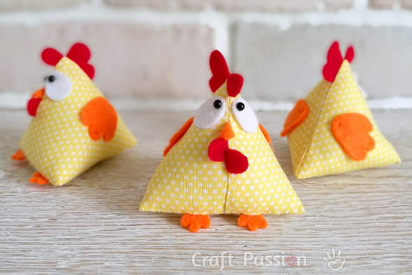 Lucky Chicken Pattern Free Sewing Pattern Craft Passion Enchanting Craft Sewing Patterns