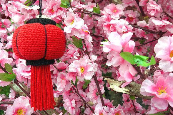 Chinese Lantern Amigurumi