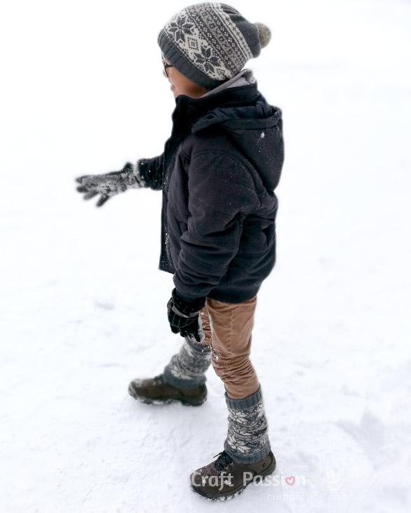 knit leg warmer