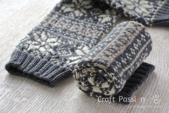 leg warmer pattern
