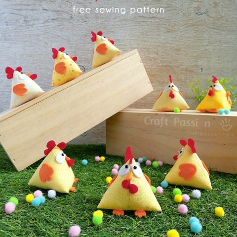 Lucky Chicken Sewing Pattern