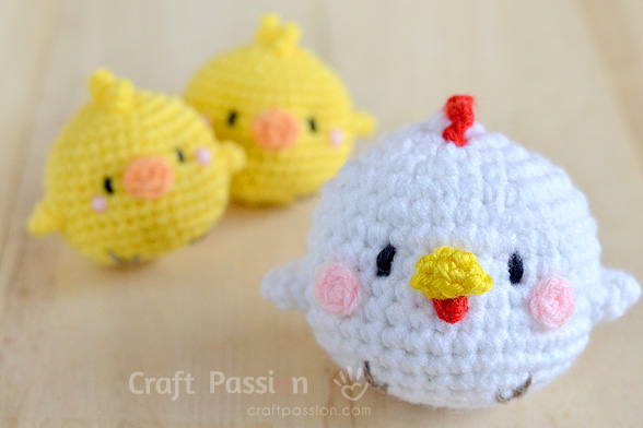 easter chicks amigurumi