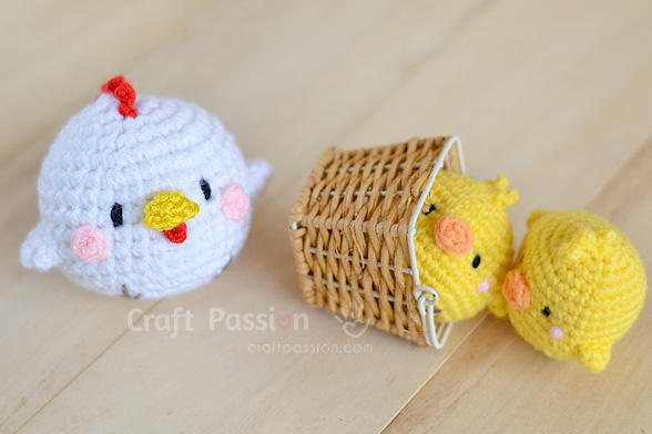 Hen & Chicks Amigurumi