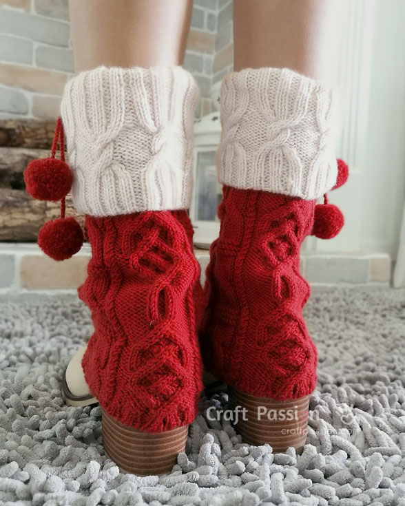 cable cuff leg warmers