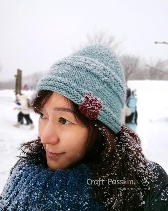 free beanie knit pattern