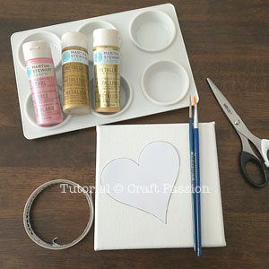 paint ombre heart