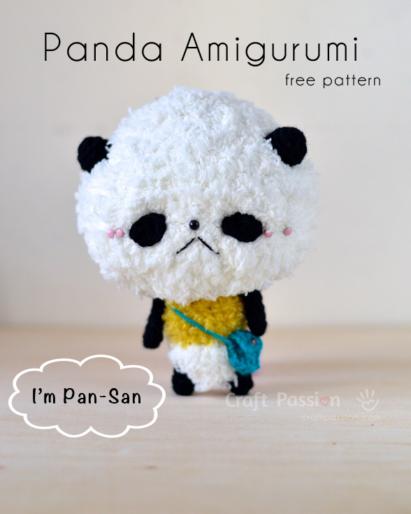 Panda Amigurumi Free Crochet Pattern Craft Passion Page 2 Of 2