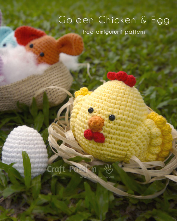 Golden Chicken Amigurmi