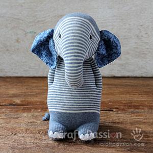 Sock Elephant Pattern