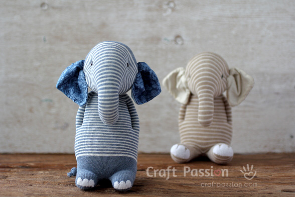 Sock Elephant Sewing Pattern