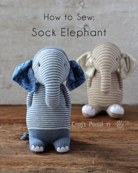 Ella the Elephant PDF Crochet Pattern | Crochet elephant, Crochet ... | 588x470