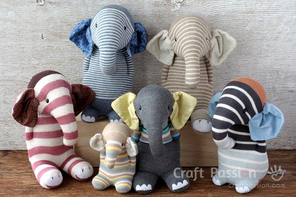 sock elephant family
