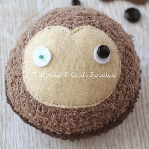sock sloth tutorial 10