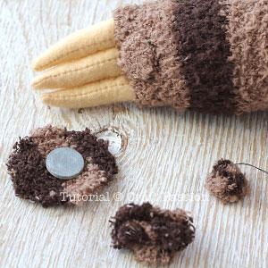 sock sloth tutorial 17