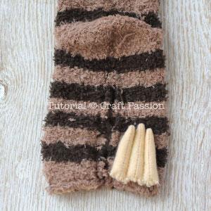 sock sloth tutorial 6