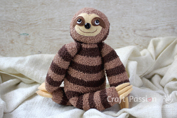 sock sloth free pattern
